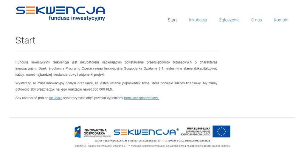Fundusz Inwestycyjny vc.sekwencja.org